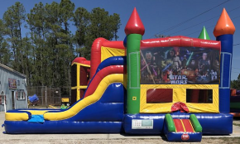 Star Wars Combo Bounce House