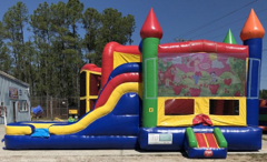 Strawberry Shortcake Combo Bounce House