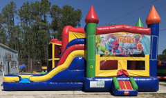 Trolls Combo Bounce House