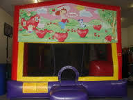 Strawberry Shortcake Combo 4 Bounce House