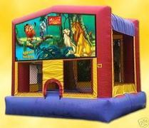 Lion King Bounce House