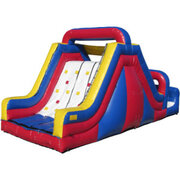 17 ft Rock Climb Slide (181)Best for ages 5+Size 35'L x 15'W x 17'H
