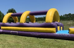 Slip N Slide w/ PoolBest for ages 8+Size 40'L X 16'W X 8'H