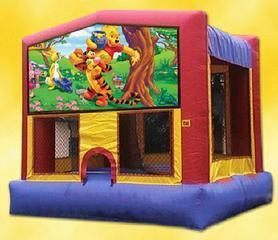 Tigger and Pooh Bounce House