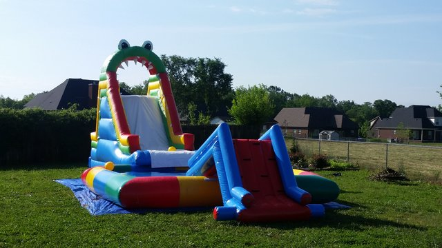 Inflatable Water Park Package (D)