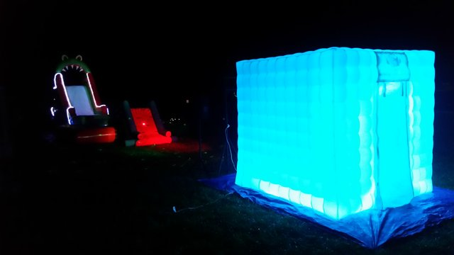 NightLife Water Park Package with LED Photo Booth