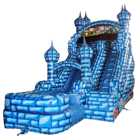 Blue Castle Water Slide (16')