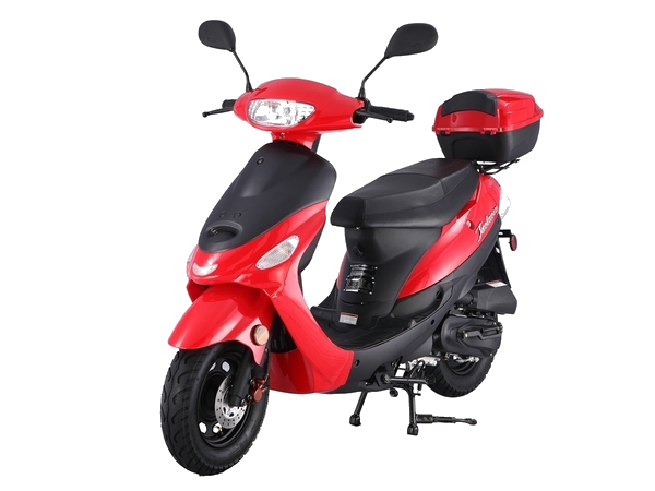 ** Scooter/Moped Rental ** 2017 50cc Scooter (Red)