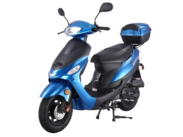 ** Scooter/Moped Rental ** 2017 50cc Scooter (Blue)