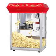 Red 8oz Popcorn Machine