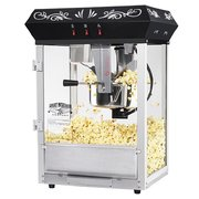 Black 8oz Popcorn Machine