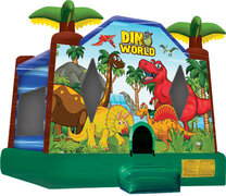 Dino World Bounce House