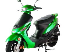 ** Scooter/Moped Rental ** 2017 50cc Scooter (Green)