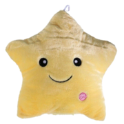 Light Up Star Pillow (Yellow) ***For Purchase***