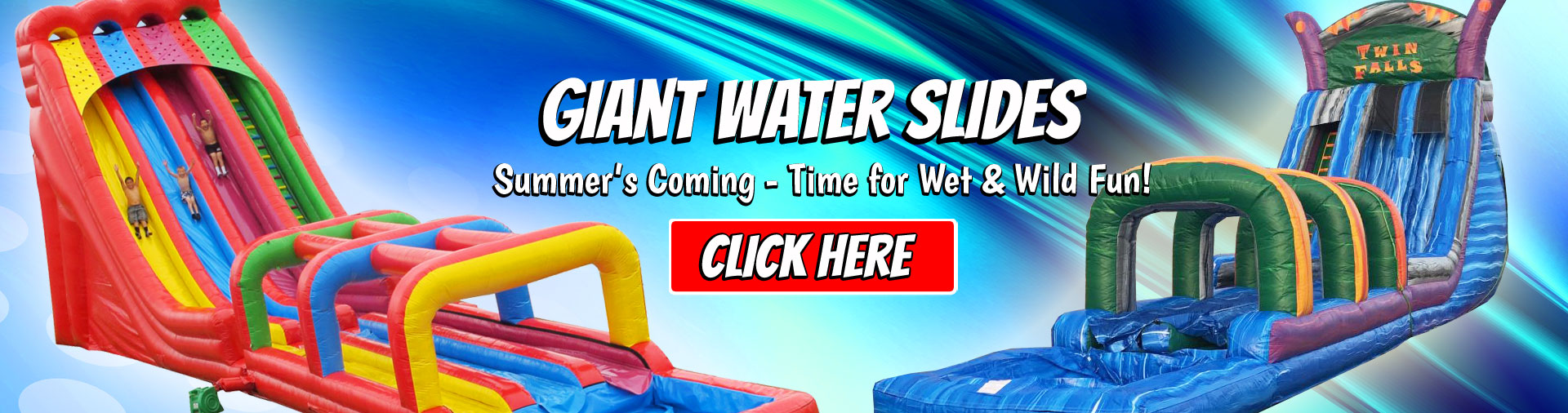 Large Water Slide Rentals