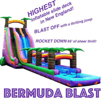 Water slide rental Maine