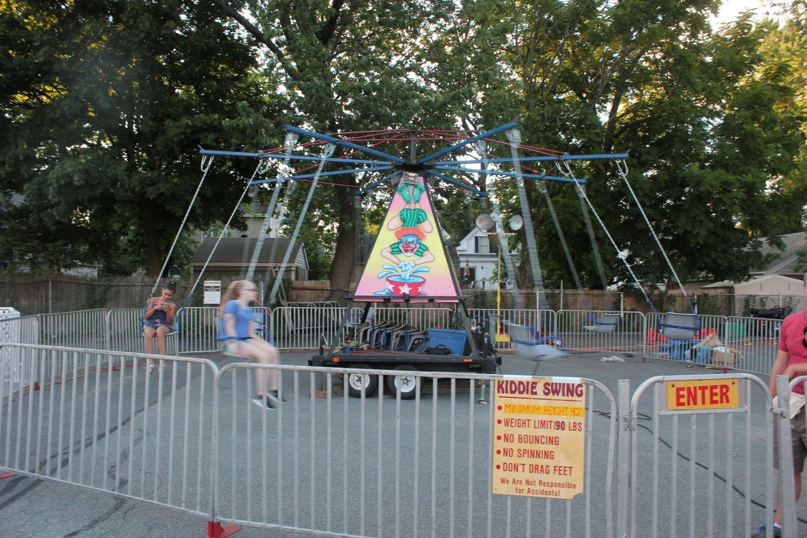 Carnival amusement swing rides New hampshire and Maine
