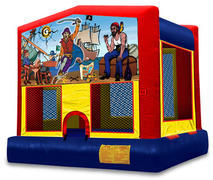 Pirate theme Bounce House