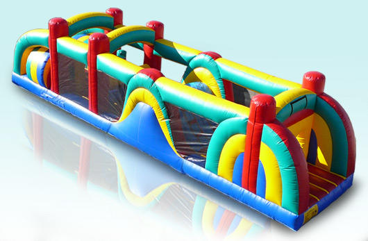 Tampa Obstacle Course Bounce House Rental