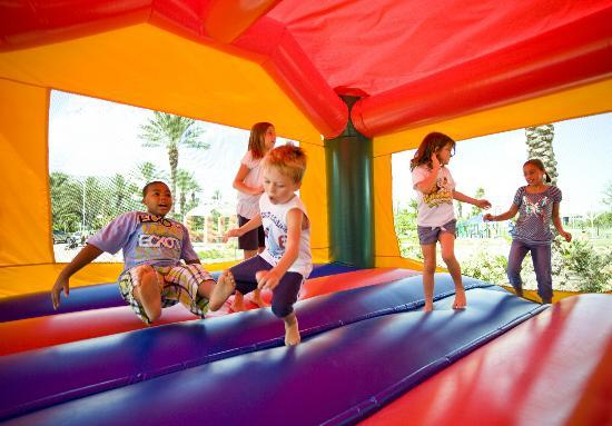 Use a party planner and rent a bounce house