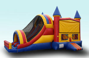 4N1 Sidewinder Water Combo Bounce House