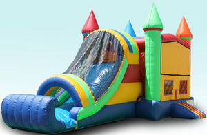 4n1 Twin Racing Water Combo Bounce House