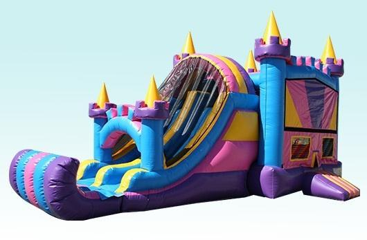 4n1 Girly Combo Bounce House