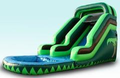 16' Tropical Water Slide Rental