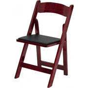 Mahogany Wooden Event Chair