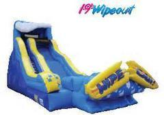 19ft Wipeout Waterslide