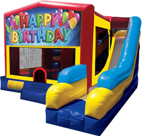 Happy Birthday Balloon Panel 7-N-1 Combo (Dry Only)