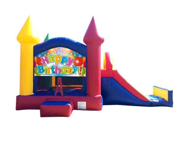 Happy Birthday Castle Combo Party Package