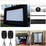 15ft Inflatable Screen Package