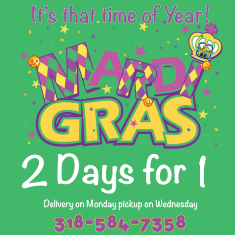 Mardi Gras 2 for 1