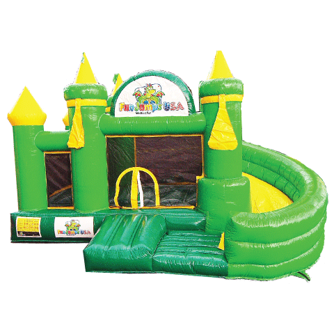 Green & Yellow Toddler Castle 99915-01