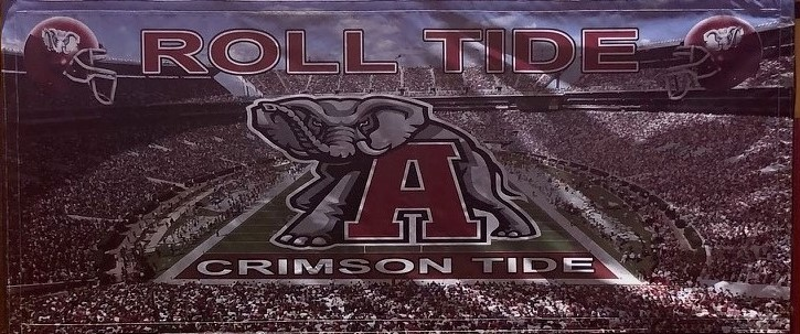 Alabama Roll Tide Bounce House Banner