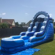 16Ft Typhoon Dry Slide Rental