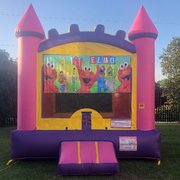 Pink Elmo Bounce House Rental