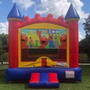 Elmo Castle Bounce House Rental