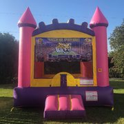 Purple LSU Bounce House Rental