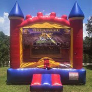 LSU Castle Bounce House Rental
