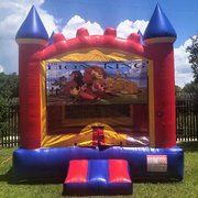 Lion King Castle Bounce House Rental