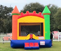 Arch Castle Bounce House Rental