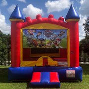 Paw Patrol Castle Bounce House Rental