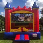 Puppy Dog Pals Castle Bounce House Rental