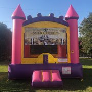 Purple Saints Bounce House Rental