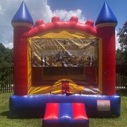 Saints Castle Bounce House Rental