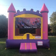Pink Spider-Man Bounce House Rental