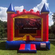 Spider-Man Castle Bounce House Rental