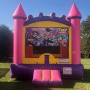 Purple Toy Story Bounce House Rental